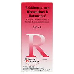 Erkältungs- und Rheumabad R Hofmanns 250 Milliliter - Vorderseite