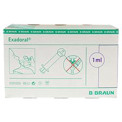 EXADORAL B.Braun orale Spritze 1 ml 100 Stück - Vorderseite