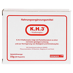 K.H.3 Vitalkomplex Kapseln 30 Stück - Vorderseite