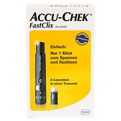 ACCU CHEK FastClix Stechhilfe Modell II 1 Stück - Vorderseite