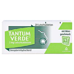 TANTUM VERDE 3 mg Lutschtabl.m.Minzgeschmack 20 Stück N1 - Vorderseite
