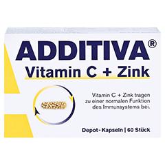ADDITIVA Vitamin C Depot 300 mg Kapseln 60 Stück - Vorderseite