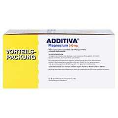 ADDITIVA Magnesium 300 mg N Pulver 60 Stück - Linke Seite