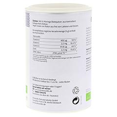 MORINGA 100% Blattpulver Bio 100 Gramm - Linke Seite