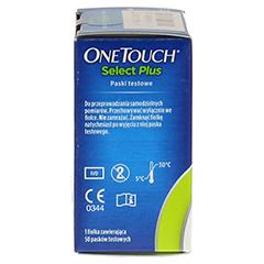 ONETOUCH SelectPlus Blutzucker Teststreifen 50 Stück - Linke Seite