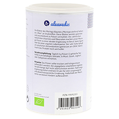 MORINGA 100% Blattpulver Bio 100 Gramm - Rechte Seite