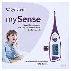 CYCLOTEST mySense digitales Bluetooth-Basaltherm. 1 Stück - Vorderseite