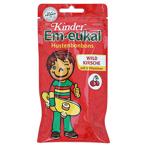 Em-eukal Kinder Bonbons Wildkirsche 75 Gramm