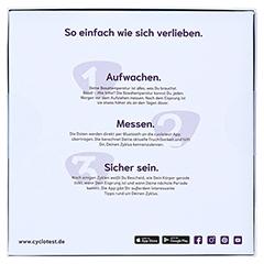 CYCLOTEST mySense digitales Bluetooth-Basaltherm. 1 Stück - Rückseite