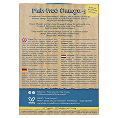 TESTA OMEGA-3 250 mg DHA Kapseln 60 Stück - Rückseite