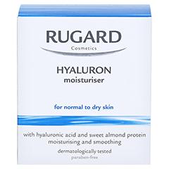 RUGARD Hyaluron Feuchtigkeitspflege 100 Milliliter - Rückseite