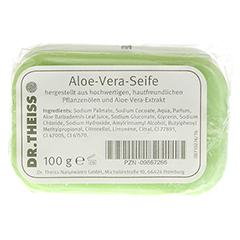 DR.THEISS Aloe Vera reine Pflanzenölseife 100 Gramm - Rückseite