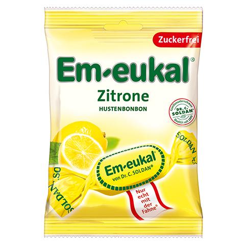 EM EUKAL Bonbons Zitrone zuckerfrei 75 Gramm