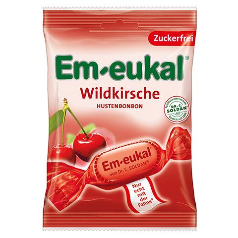EM EUKAL Bonbons Wildkirsche zuckerfrei 75 Gramm