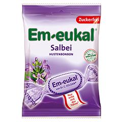 Em-eukal Bonbons Salbei zuckerfrei 75 Gramm