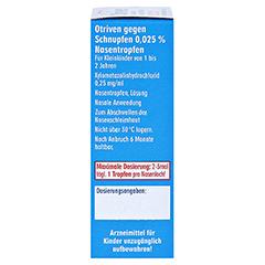 Otriven gegen Schnupfen 0,025% 10 Milliliter N1 - Rechte Seite