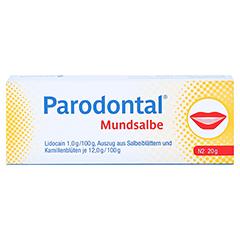 Parodontal Mundsalbe 20 Gramm N2 - Vorderseite
