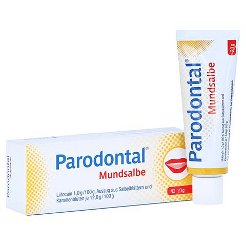 Parodontal Mundsalbe 20 Gramm N2
