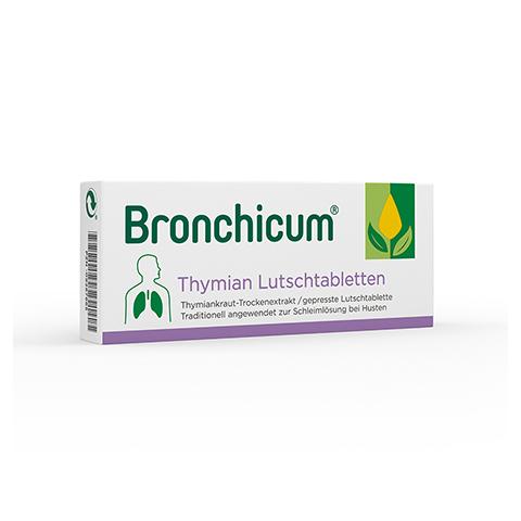 BRONCHICUM Thymian Lutschtabletten 20 Stück