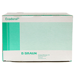 EXADORAL B.Braun orale Spritze 1 ml 100 Stück - Oberseite