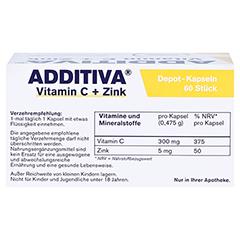 ADDITIVA Vitamin C Depot 300 mg Kapseln 60 Stück - Oberseite
