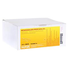HEWEDOLOR Procain 2% Ampullen 100 Stück