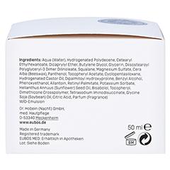 Eubos Sensitive Aufbaucreme Nachtpflege 50 Milliliter - Rechte Seite