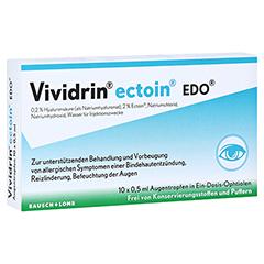 Vividrin Ectoin EDO Augentropfen 10x0.5 Milliliter
