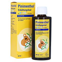 Pinimenthol Erkältungsbad für Kinder ab 2 Jahren Eucalyptus 190 Milliliter