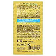 LUVOS Heilerde Anti-Pollution-Maske 2x7.5 Milliliter - Rückseite