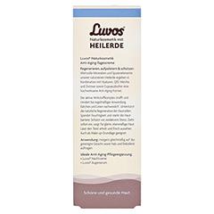 LUVOS Heilerde Anti-Age Tagescreme 50 Milliliter - Rückseite