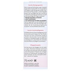 WELEDA Mandel Sensitiv Reinigungsmilch 75 Milliliter - Rückseite