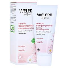 WELEDA Mandel Sensitiv Reinigungsmilch 75 Milliliter