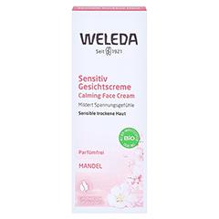 WELEDA Mandel Sensitiv Gesichtscreme 30 Milliliter - Vorderseite