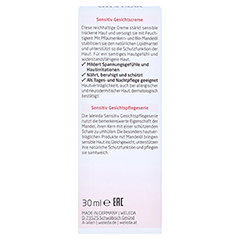 WELEDA Mandel Sensitiv Gesichtscreme 30 Milliliter - Rückseite