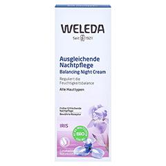 WELEDA Iris ausgleichende Nachtpflege 30 Milliliter - Vorderseite