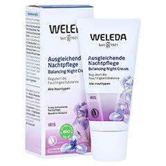 WELEDA Iris ausgleichende Nachtpflege 30 Milliliter
