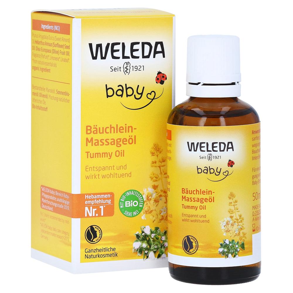 WELEDA Baby Bäuchlein-Massageöl 50 Milliliter