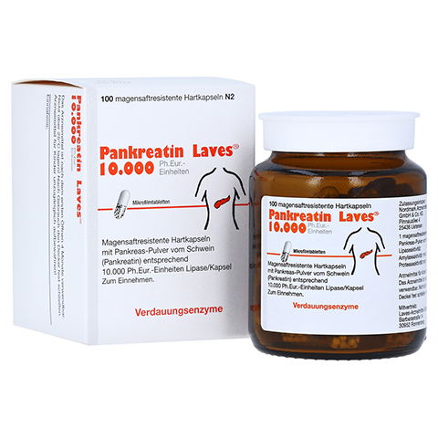 Pankreatin Laves 10000 Ph.Eur.-Einheiten 100 Stück N2
