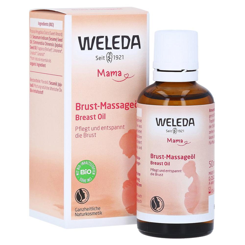 WELEDA Brust-Massageöl 50 Milliliter