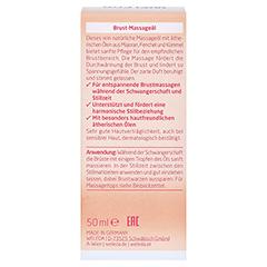 WELEDA Brust-Massageöl 50 Milliliter - Rückseite