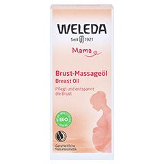 WELEDA Brust-Massageöl 50 Milliliter - Vorderseite