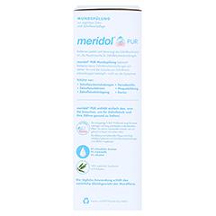 MERIDOL Pur Mundspülung 400 Milliliter - Rechte Seite
