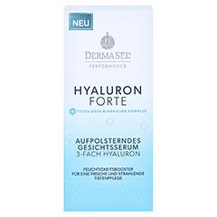 DERMASEL Performance TM+Hyaluron Gesichtsserum 30 Milliliter - Vorderseite