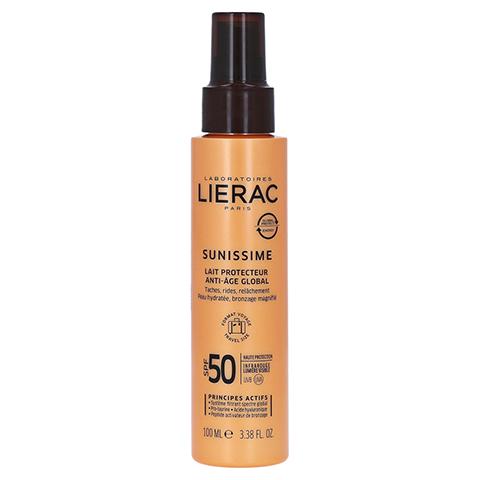 LIERAC Sunissime Körper LSF 50 Schutzmilch 100 Milliliter