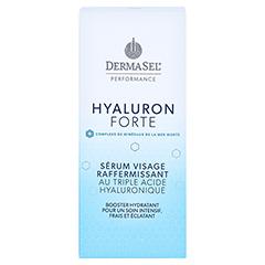DERMASEL Performance TM+Hyaluron Gesichtsserum 30 Milliliter - Rückseite