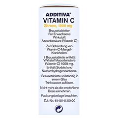 ADDITIVA Vitamin C Zitrone 10 Stück - Linke Seite