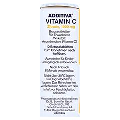 ADDITIVA Vitamin C Zitrone 10 Stück - Rechte Seite