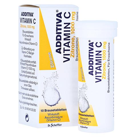 ADDITIVA Vitamin C Zitrone 10 Stück