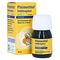 Pinimenthol Erkältungsbad für Kinder ab 2 Jahren Eucalyptus 30 Milliliter